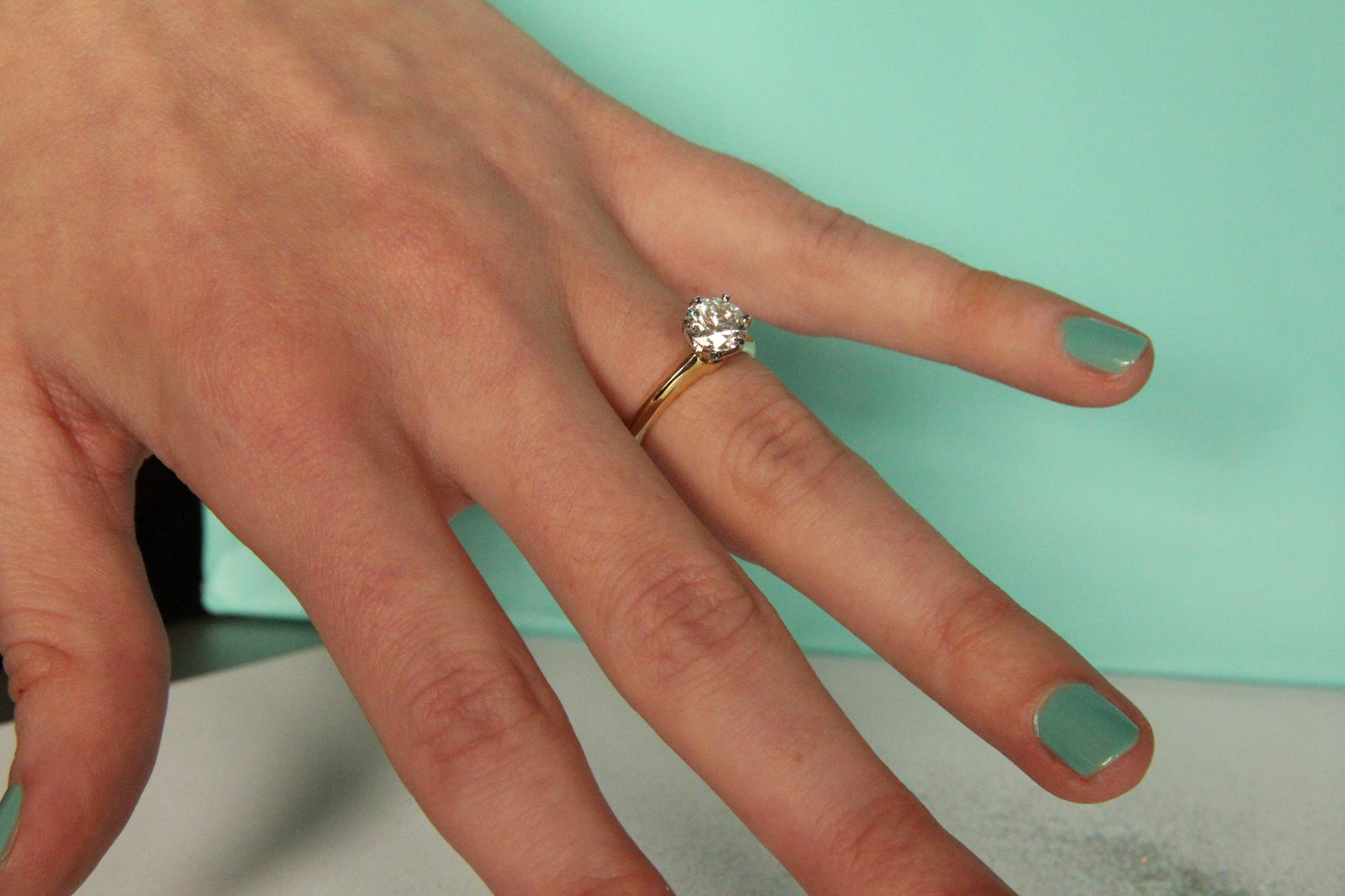 Gold Wedding Rings: Engagement Rings Which Hand Which Finger