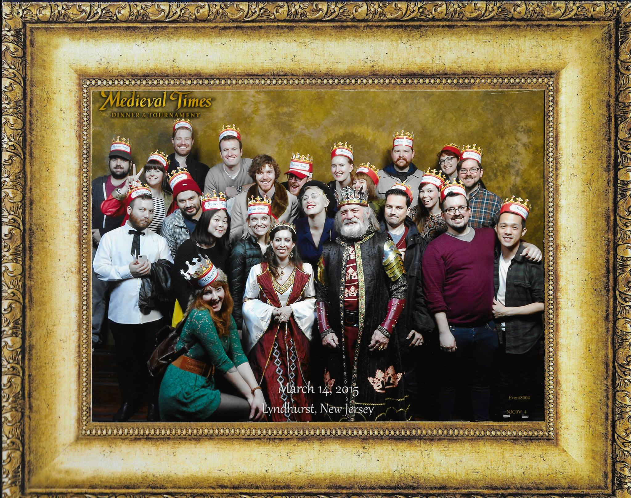 Medieval Times group photo